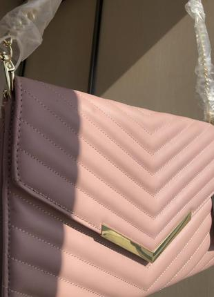 Новая сумка брендовая cross body на длинной цепочке оригинал steve madden через плечо с бирками
