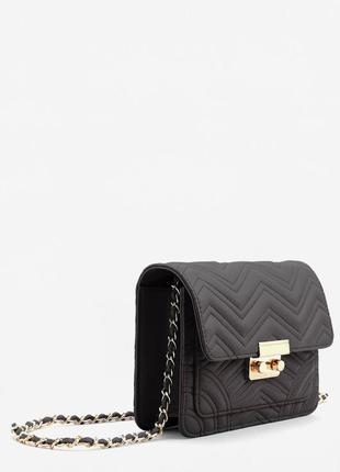 Новая стильная сумка кроссбоди через плечо от mango