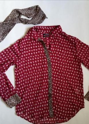 Блуза рубашка scotch & soda 🍉🌶️