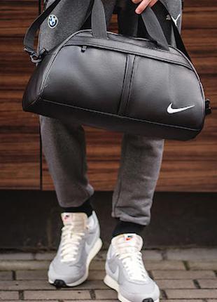 Мужская спортивная сумка эко-кожа