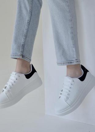 Скидка ! белые кеды , белые кроссовки на платформе! sale