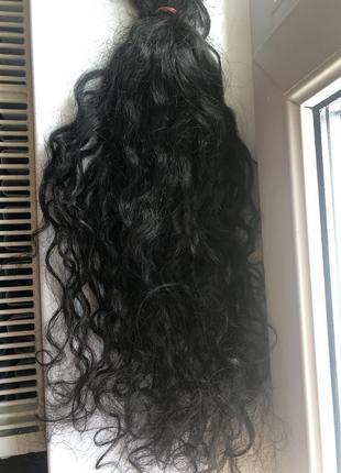 Волосы для наращивания кудрявые