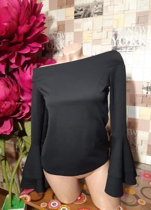Блуза с открытыми плечами акция 1+1=3