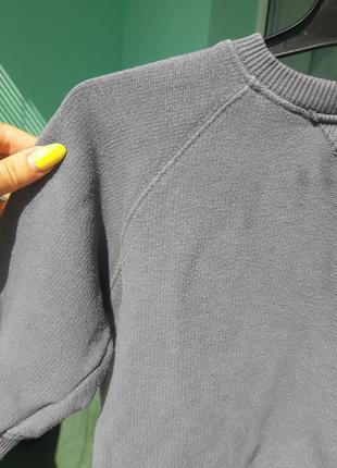 Свитшот свитер zara 12 18 86 на мальчика осенний теплый