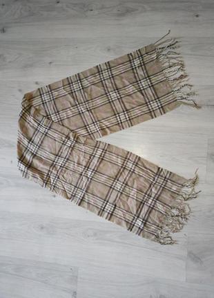 Теплый шарф burberry берберри мужской, женский