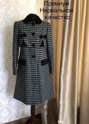 Шедевр от marc jacobs, эксклюзивное пальто шерсти оригинал