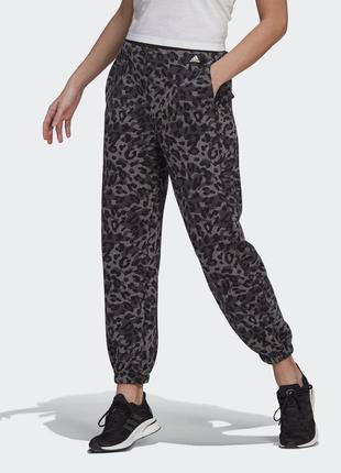 Брюки женские adidas sportswear leopard gp9616