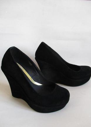 Туфли из натуральной замши vip