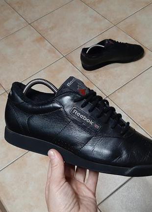 Кожаные кроссовки,ботинки reebok (рибок) princess classic