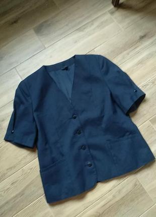 Винтажный пиджак англия размер 48