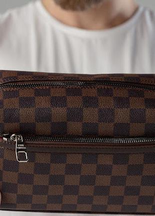 Мужская сумка органайзер brown
