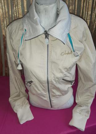 Куртка курточка двусторонняя с вышивкой