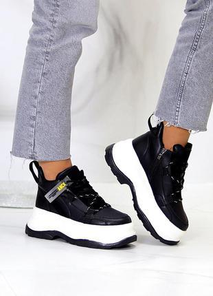 Кроссовки на флисе
