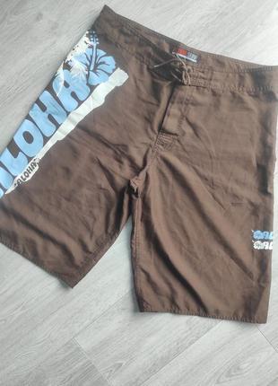 Шорты aloha пляжные шорты