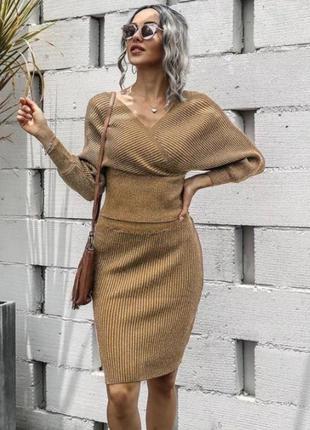Платья люрекс