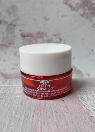 Крем для шкіри навколо очей origins ginzing refreshing eye cream