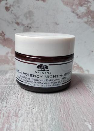 Нічний крем для обличчя origins high potency night-a-mins