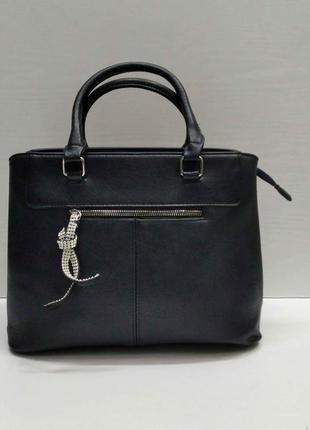 Женская сумка (серая) 21-09-029