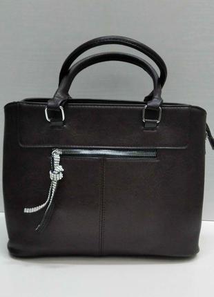 Женская сумка (коричневая) 21-09-029