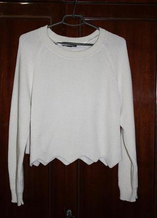 Вязаный свитер atmosphere (оверсайз)