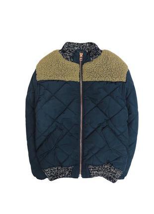 Комбинированная куртка на 5-6л