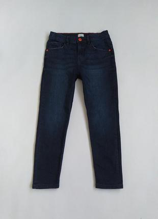 Темно-синие джинсики фирмы f&f на 8-9 лет(по бирке 9-10)