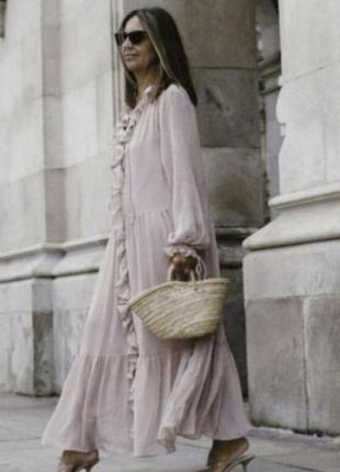 Платье h&m zara m-l-xl