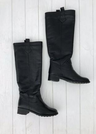 Женские кожаные сапоги, жіночі шкіряні чоботи