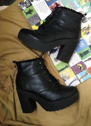 Осенние ботинки от new look