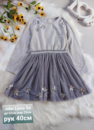 Нарядное платье с паетками