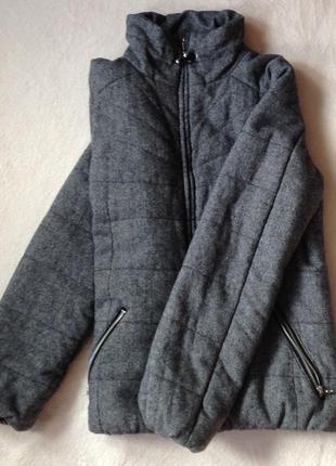 Куртка из твида h&m