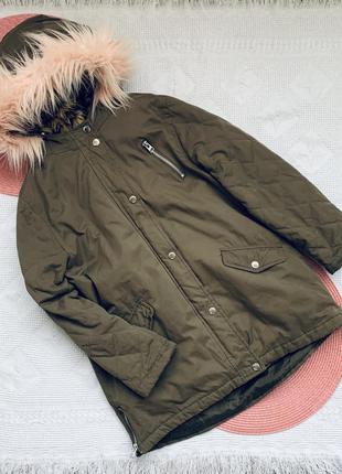Тёплая куртка, парка