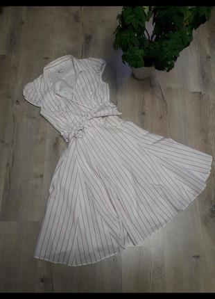 Платье zara с имитацией на запах платье с имитацией на запах платье сарафан миди сарафан макси платье миди