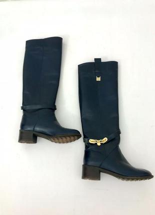 Женские кожаные сапоги, жіночі шкіряні черевики