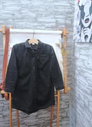 Джинсовая рубашка next