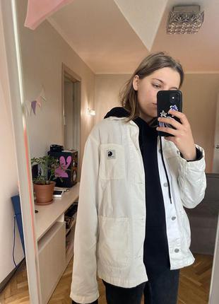 Куртка carhartt wip michigan coat джинсовка кархарт