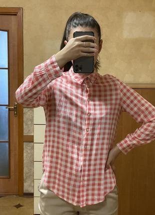 Рубашка в клетку colin's m