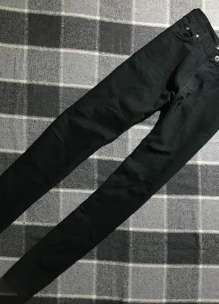 Мужские черные джинсы denim co