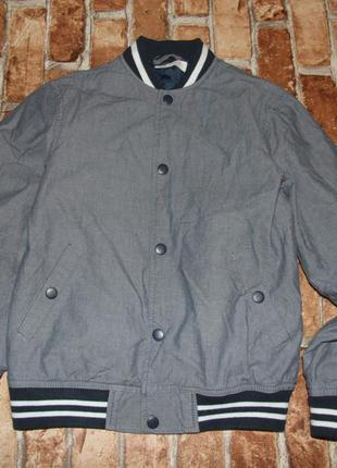 Куртка ветровка бомбер мальчику 9 - 10 лет h&m