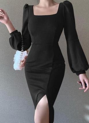 Шикарное платье-футляр