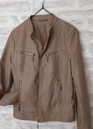Кожаная куртка / курточка / кожанка / кожаная косуха...