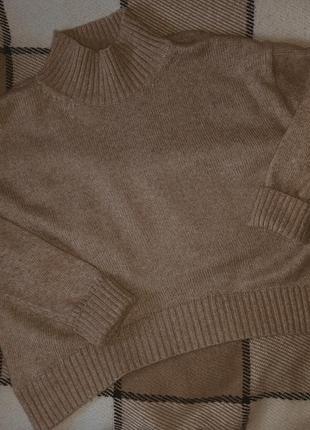 Тёплый уютный свитер h&m