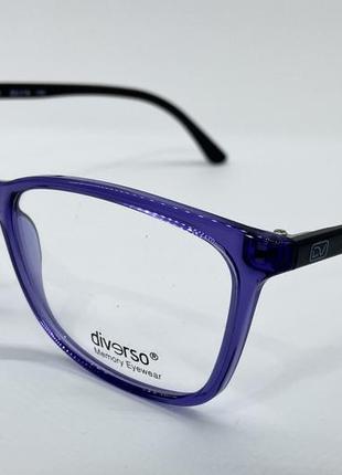 Женские очки оправа под установку линз легкие прочные