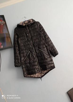 Курточка парка на тонком синтепоне