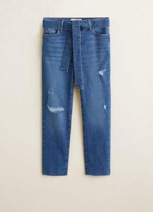 Джинси штани розмір виробника 40/л, не оброблений низ, нові з біркою, не сток 👖
