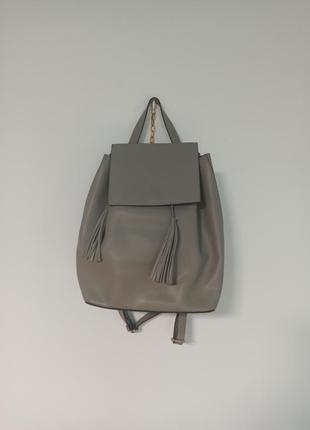 Кожаный рюкзак borse in pelle 35×35 см оригиналь