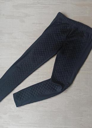 Черные штаны лосины леггинсы м брюки чорні