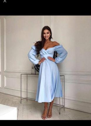 Шикарное нарядное платье