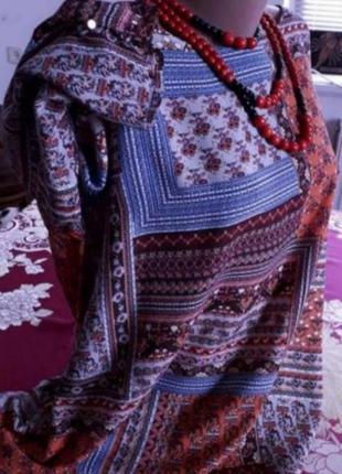 Очень красивая, натуральная блуза. 52-54-56