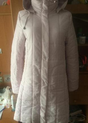 Куртка, розовая, еврозима, colours of the world..